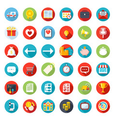 icon mix vector image