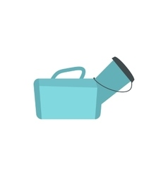 Medical bag icon flat style vector