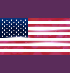Usa national flag flag of the united states of vector