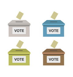 Vote icon in on white background vector