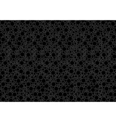Black Dotted Background vector image vector image
