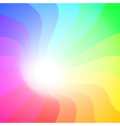 colorful 3Ds lines vector background vector image vector image