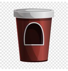 Coffee kiosk icon cartoon style vector