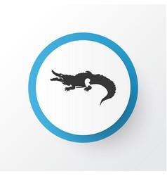 crocodile icon symbol premium quality isolated vector image