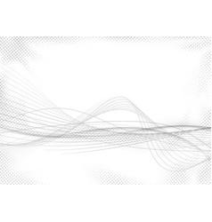 Modern abstract striped swoosh futuristic mild vector