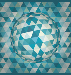 Sphere 3d abstract vector