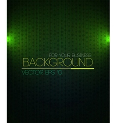 Spotlight background green vector