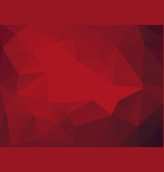 triangular red abstract background vector image