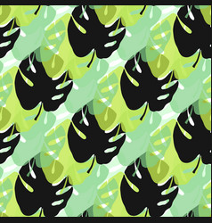 Tropical seamless patternsummer endless vector