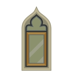 Window element isolated vector image