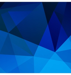 Abstract Blue Geometric Background for your design vector image