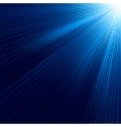 Blue luminous rays EPS 10 vector image
