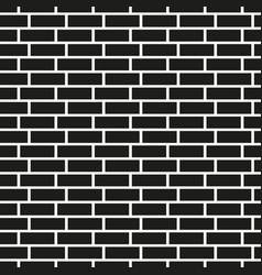 Brick wall seamless pattern simple mosaic vector