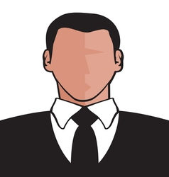 Businessman icon2 resize vector image