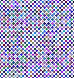 Colorful abstract square pattern background design vector