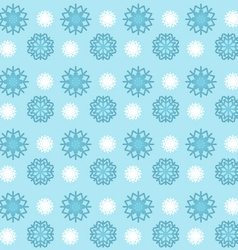 snowflakes seamless pattern wallpaper background vector image