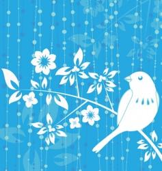 Bird decoration vector