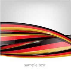 germany flag on background vector image vector image