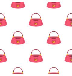 bag pattern seamless vector image