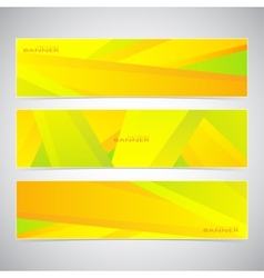 Collection of the 3 colorful web banners Can be vector