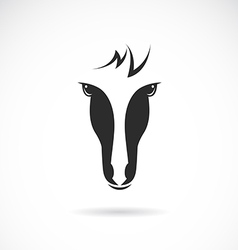 image of an horse face vector image vector image