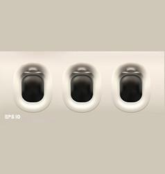 on white background plane illuminator vector image