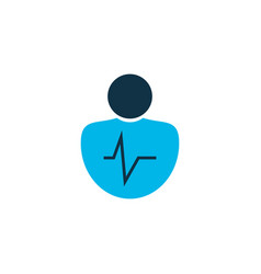 Personality traits icon colored symbol premium vector