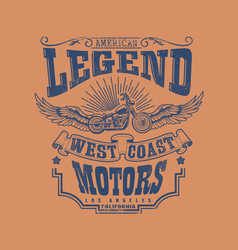 West coast motors vector