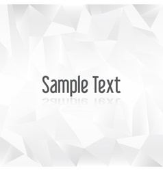 White paper creased pattern with sample text eps10 vector