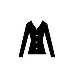 Womens blouse icon vector