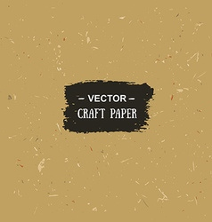 cardboard texture Craft paper for your design vector image