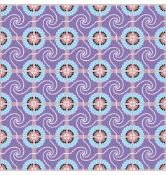seamless wallpaper Egypt 1 purple vector image vector image