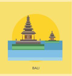 Bali conceptual design vector