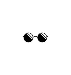 glasses logo icon vector image