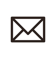Mail icon envelope sign vector