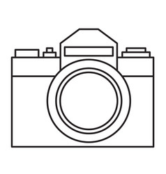 photographic camera vector image
