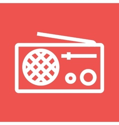 Radio Set vector image