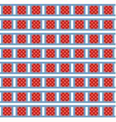 tiny polka dots squares grid seamless vector image