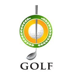 Golf Seal vector image