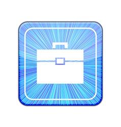 version Briefcase icon Eps 10 vector image vector image