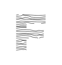 Abstract line initial f vector