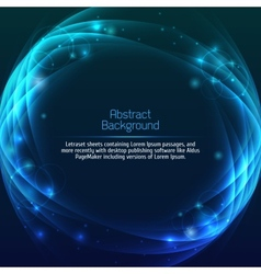 Abstract space background vector image