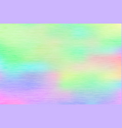 colorful holographic foil texture vector image