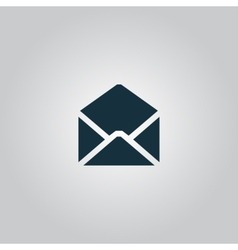 Envelope Mail icon Flat vector image