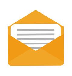 envelope mail symbol vector image