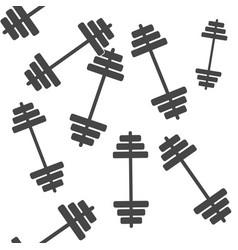 Image dumbbells dumbbell for fitness seamless vector