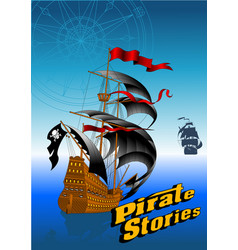 pirate stories vector image