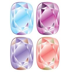 Shiny Diamonds Set2 vector