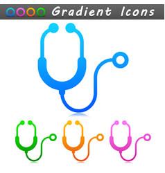 Stethoscope symbol icon design vector