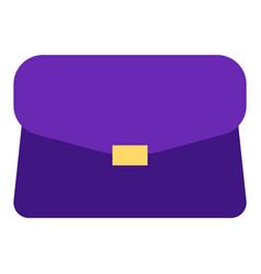 transportation object handbag logo trip vector image